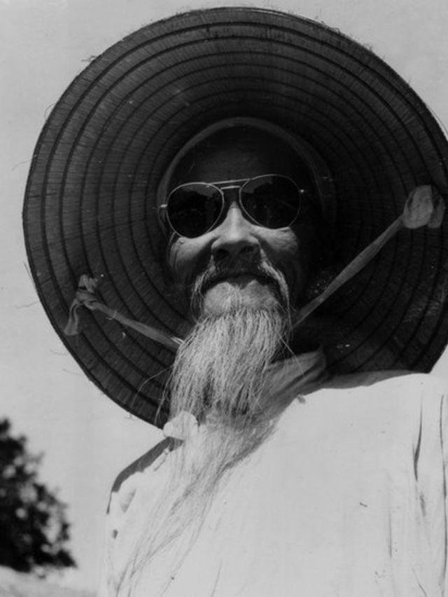 An old man in Saigon, 1959