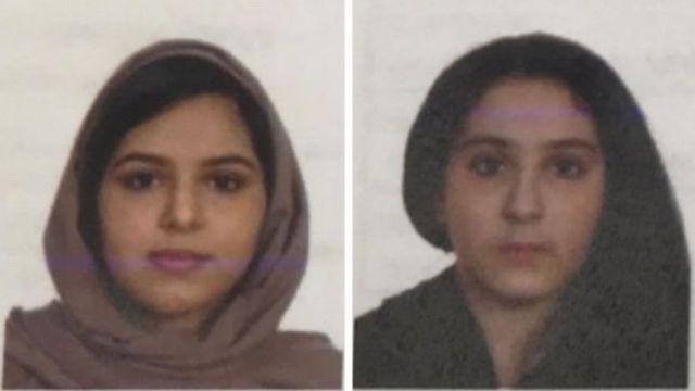 تالا فارع (16 عاما) وروتانا فارع (22 عاما) عثر على جثتيهما مربوطتين بشريط لاصق في نهر هدسون