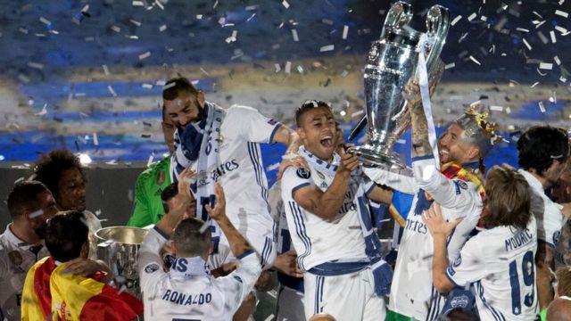 Real Madrid ndunu leyin ti won gba ife eye Champions league lodun 2017