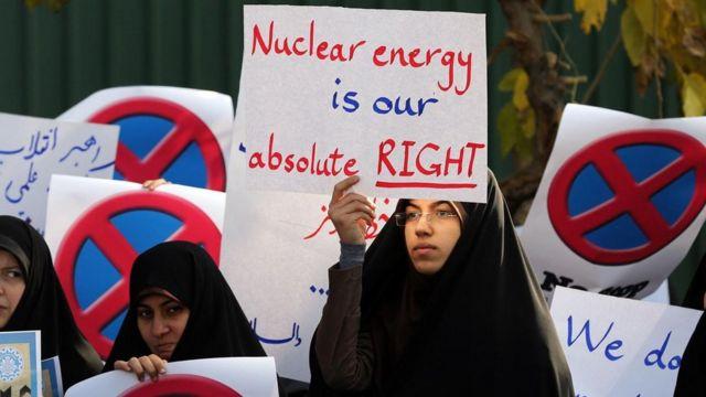 支持核能集会