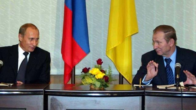 Володимир Путін, Леонід Кучма, 24 грудня 2003 року