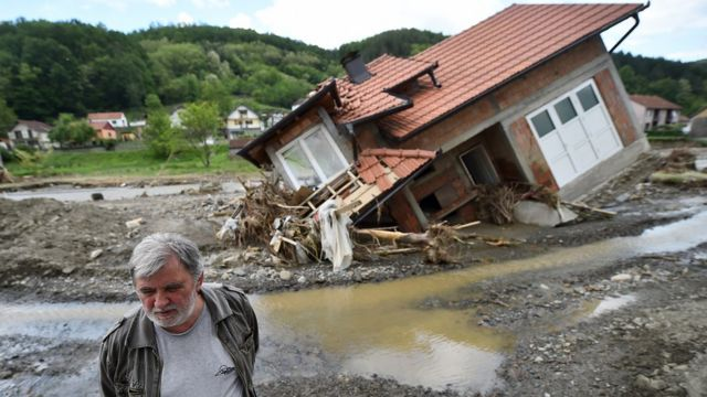 Poplave, Srbija, 20. maj 2014.