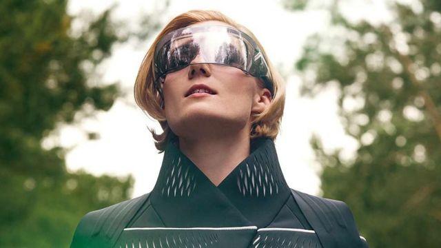 Gafas con realidad virtual para la moto del futuro de BMW