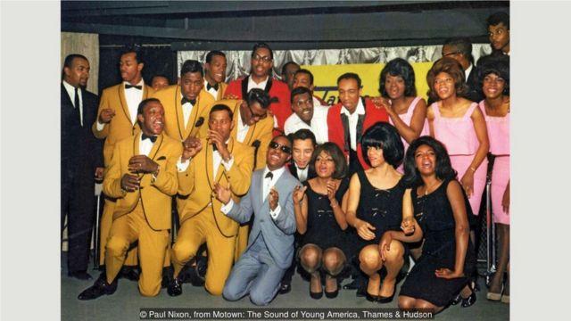 1965年3月,诱惑合唱团、奇迹乐队、旺德、玛尔塔和范德拉斯以及至上女声在EMI唱片公司参加塔姆拉摩城唱片公司在英国的成立活动。