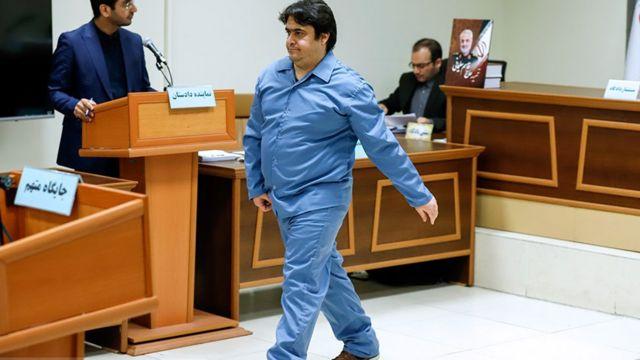 روح الله زم در سومین جلسه دادگاه