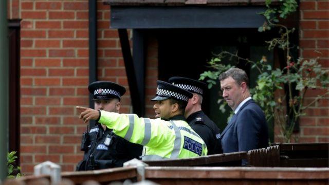 فتشت الشرطة منزل اللاجيء السوري، المشتبه به في تفجير مترو لندن