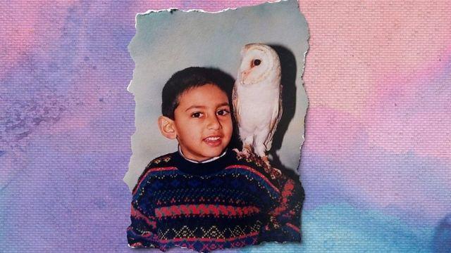 Jaabir Ramlugon na infância