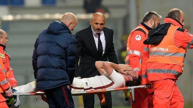 Florenzi s'était rompu le ligament croisé antérieur du genou gauche au mois d'octobre.