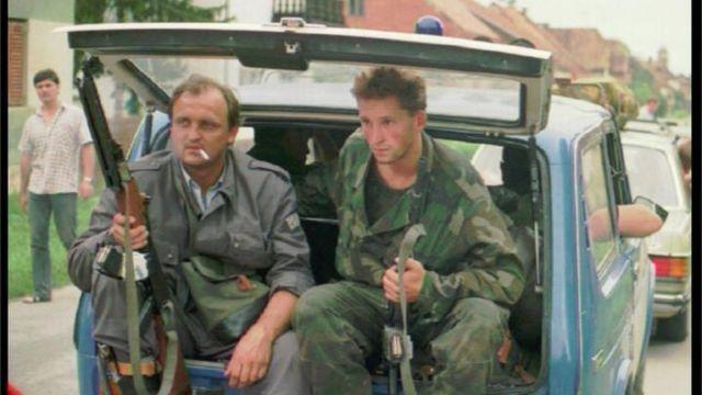 Бійці Хорватської національної гвардії