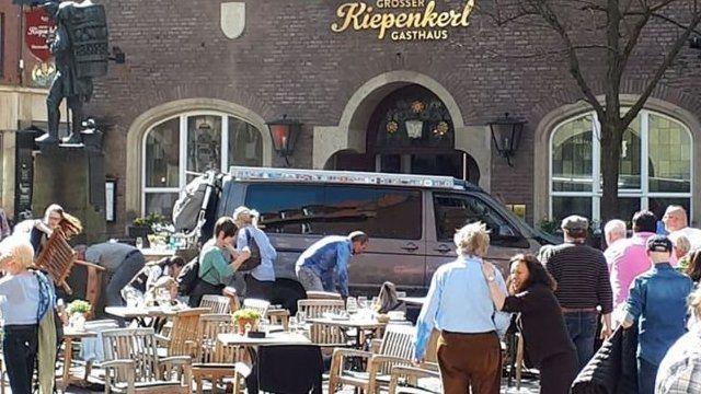 Zona de restaurantes de Münster
