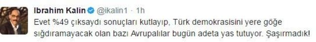 İbrahim Kalın twitter