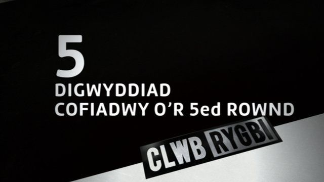 Clwb Rygbi 5 moments from 5th round of the Pro 12