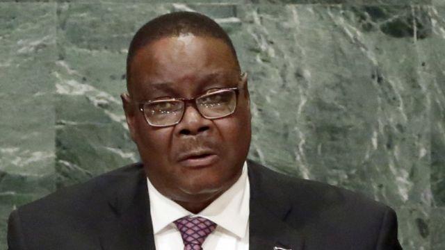 मालावी के राष्ट्रपति पीटर मुथारिका