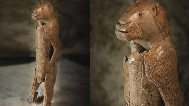Фігурка людини-лева