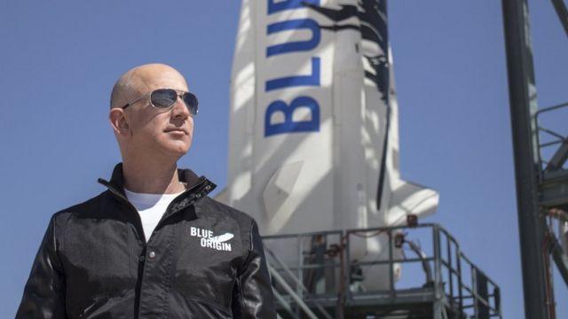 Jeff Bezos, magnata do Amazon