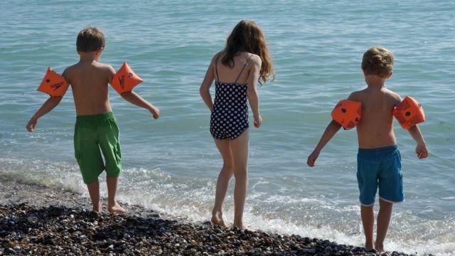 Плажа деца