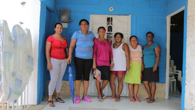 Las vecinas de la Ciudad de las Mujeres.
