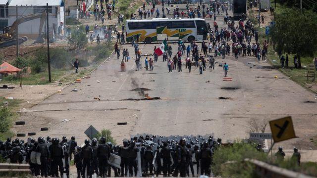 La Coordinadora Nacional de Trabajadores de la Educación afirma que las víctimas aumentaron a 11 este martes.