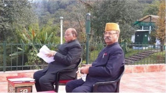 श्रीनिवास पाटील-शरद पवार
