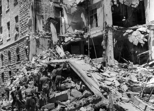 El atentado contra el hotel King David de Jerusalén, ocurrido en 1946, causó la muerte de 91 personas.