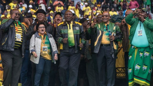 Jacob Zuma yahamagariye ANC kwumviriza abanye Afrika y'epfo basanzwe