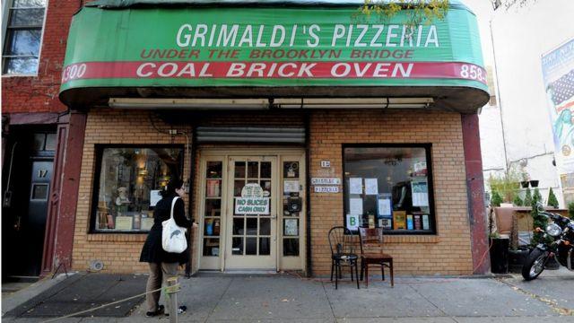 Pizzería en Nueva York