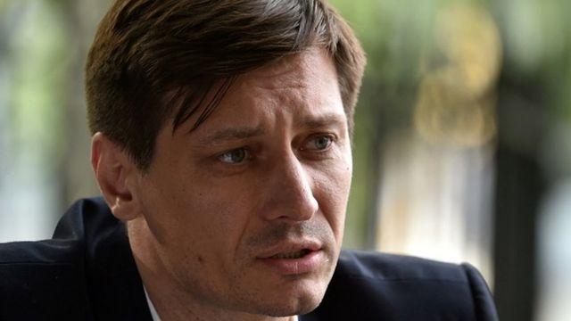 Prominent Kremlin critic and former opposition lawmaker Dmitry Gudkov
