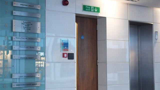 ケンブリッジ・アナリティカの社名は、同社が入居していたロンドンにあるビルの壁から既に撤去されている