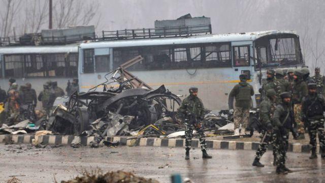 14 Şubat'taki saldırı, bölgede son yılların en kanlı saldırısı oldu. Srinagar, Hindistan
