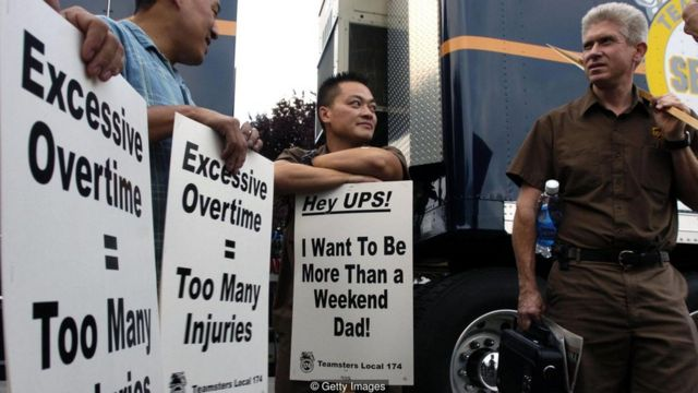 kerja lembur, protes