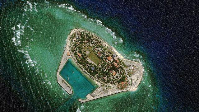 Đảo Song Tử Tây thuộc quần đảo Trường Sa