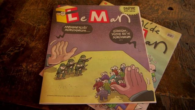 LeMan magazine cover