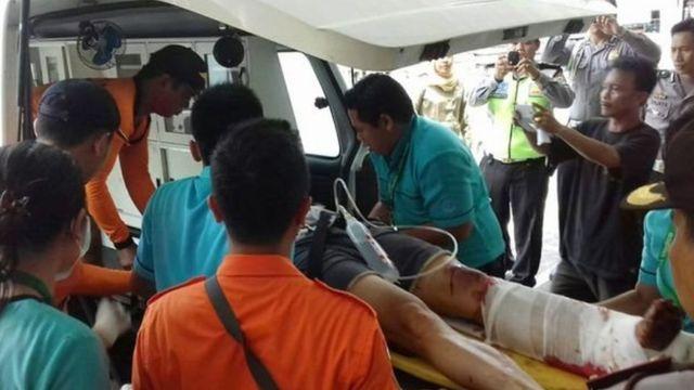 बाली में नाव में धमाका