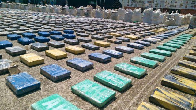 犯罪組織ウスガのコカインは中米を経由し米国に送られる