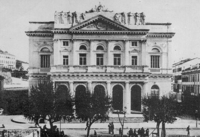 Pozorište u gradu Krfu gde je zasedala Narodna skupština