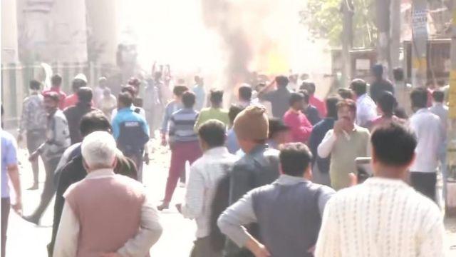 दिल्ली के जाफ़राबाद में हुई हिंसा