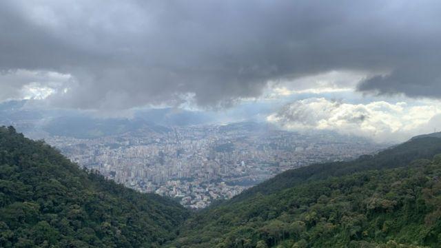 Vista de Caracas desde el Cerro Ávila.