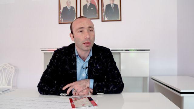 MHP Samsun İl Başkanı Taner Tekin,