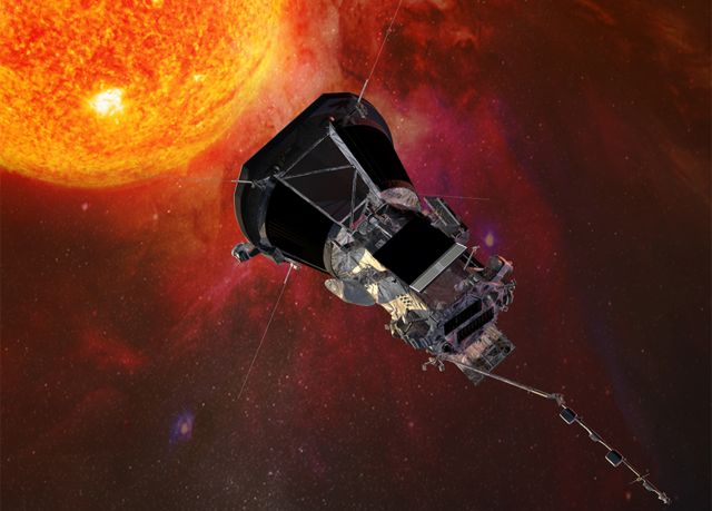 Parker Solar Probe: Sun-skimming mission starts calling home