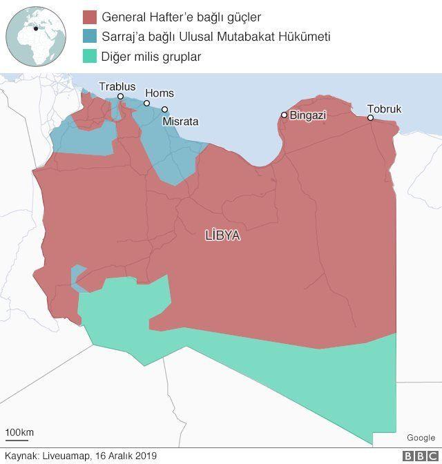 Libya'da hangi bölgeyi kim kontrol ediyor?