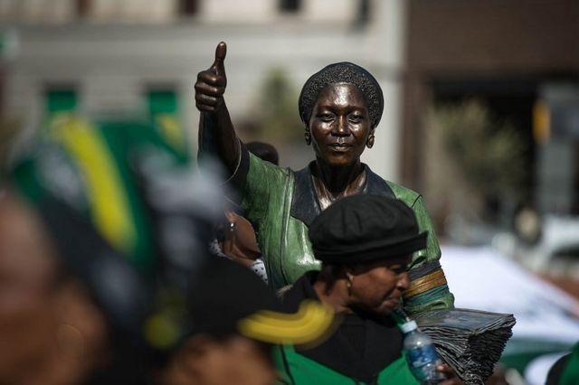 Monument des Femmes de Pretoria.