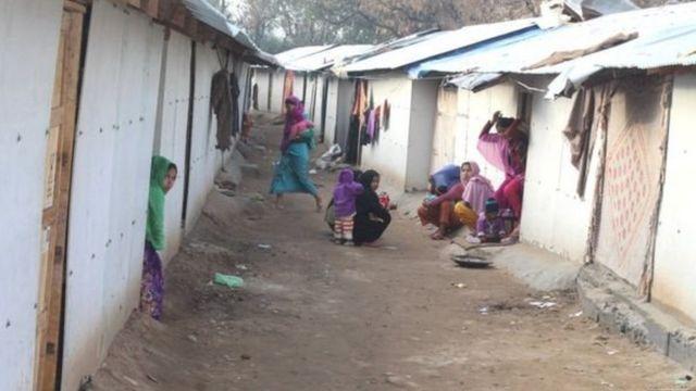 ভারতে এভাবেই বসবাস করছে রোহিঙ্গারা
