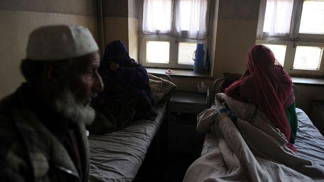 بخش روان پزشکی یک بیمارستان در کابل