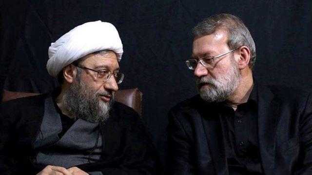 علی و صادق لاریجانی