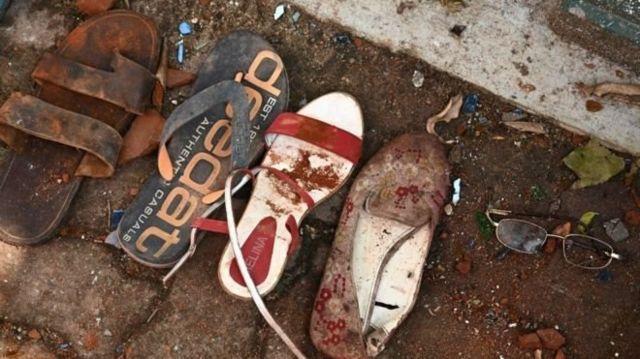 أحذية الضحايا