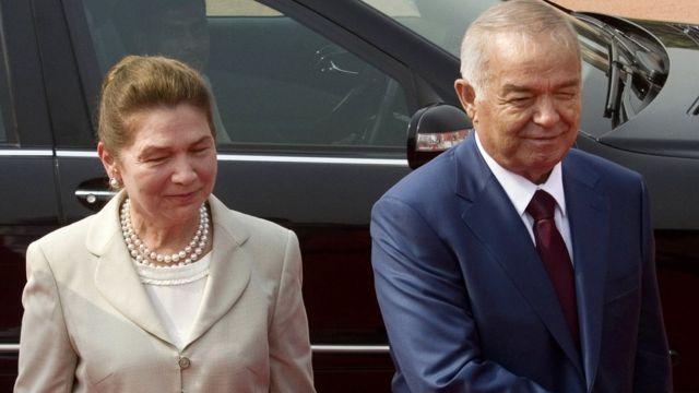 Ислам и Татьяна Каримовы