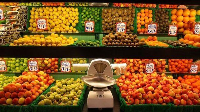 फल और सब्ज़ियां