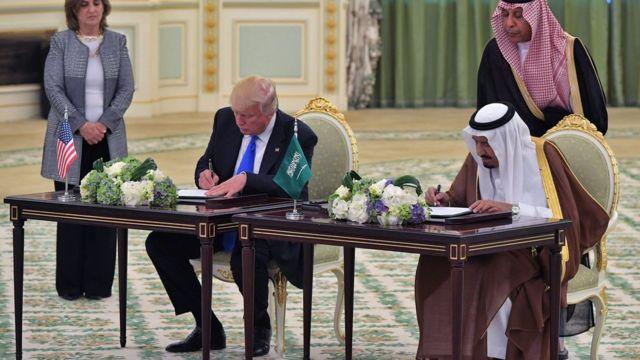 Trump ve Kral Selm an