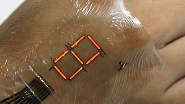 E-skin 'can monitor body's oxygen level'