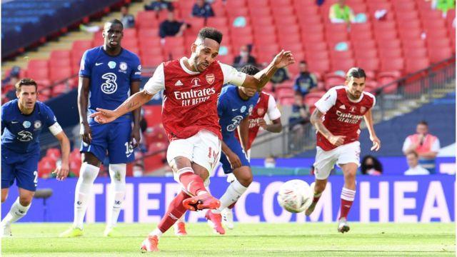 FA Cup final Arsenal vs Chelsea: Arsenal beat Chelsea to win di FA Cup for  di 14th time - BBC News Pidgin